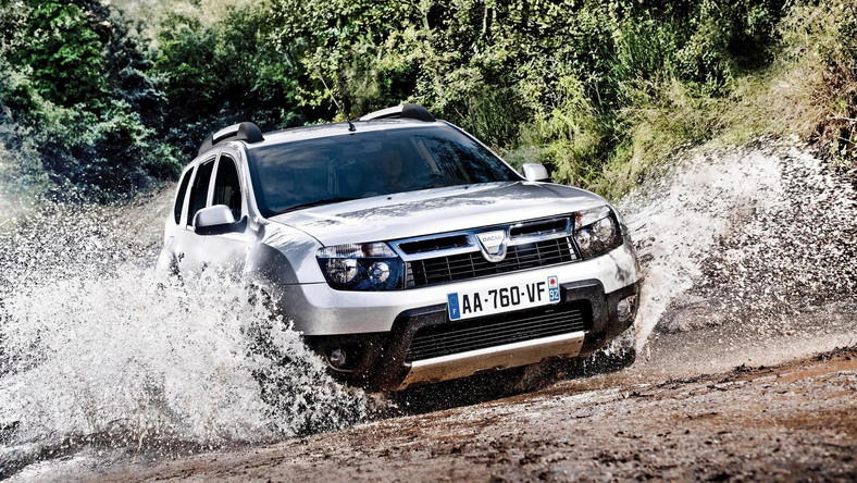 Dacia duster LPG dostępna jest w wersji z napędem na przednią oś