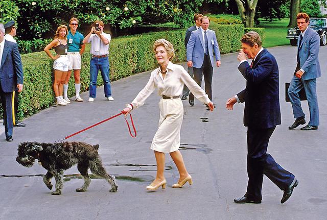 Ronald Regan zapamćen je i kao predsednik koji je držao sastanke dok su oko njega trčkarali psi