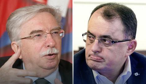 Nikola Šainović i Vladan Zagrađanin