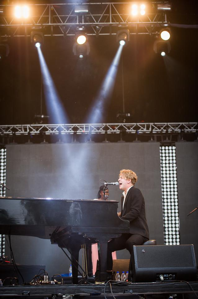 Tom Odell na Orange Warsaw Festival 2016