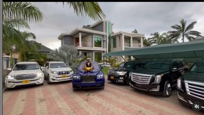 List of Multi-million Cars owned by Diamond Platnumz (Photos/Video)