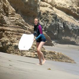Julia Roberts aktywnie wypoczywa na plaży