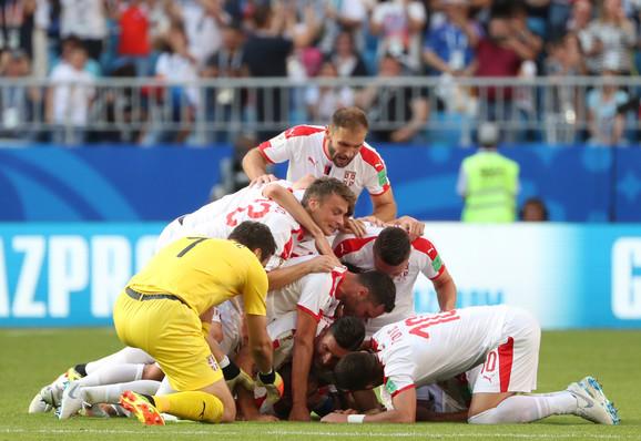 Radost igrača Srbije na startu Mundijala u Rusiji