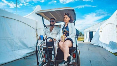 D'banj surprises wife with a Range Rover Velar for Valentine's Day