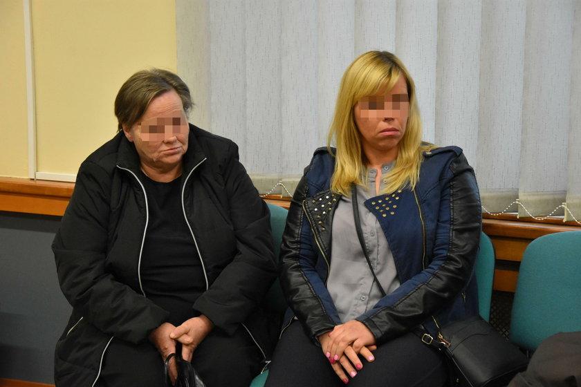 Matka i siostra ofiary