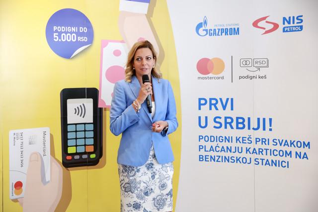 Jelena Ristić, direktor za tržišta Srbije, Crne Gore i Bosne i Hercegovine u kompaniji Mastercard