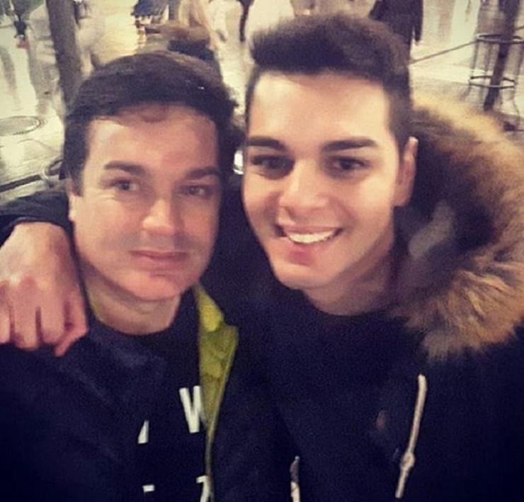 Adam Đogani i otac