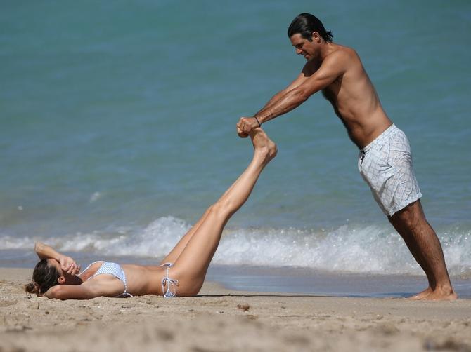 Poznati sportista uživa sa ženom: U braku su 13 godina i imaju četvoro dece!