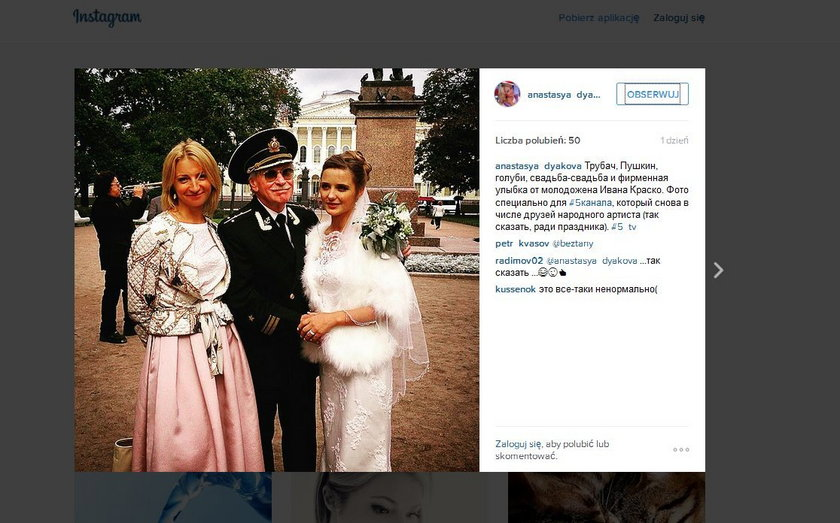 Natalia Szewel i Iwan Krasko wzięli ślub