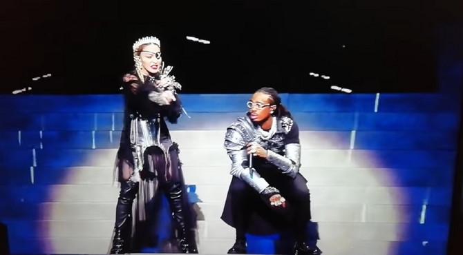 Madona i Kjevo Hančo na Evroviziji