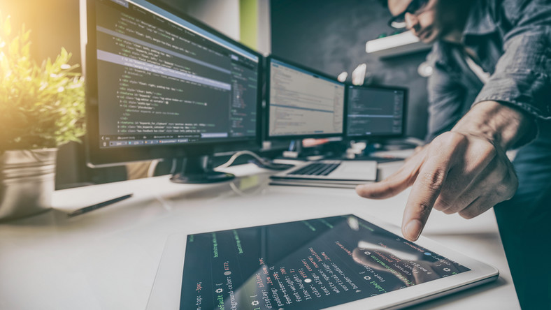 Programiści, IT, komputer