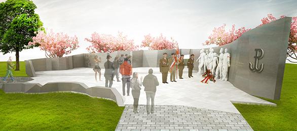 Projekt pomnika AK