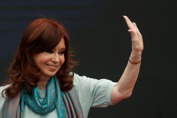 Kristina Fernandez EPA JUAN IGNACIO RONCORONI