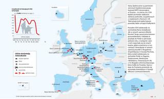 Parasol z gwiazdek i pasków: Gdzie stacjonują wojska USA w Europie