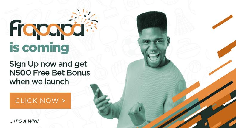 Frapapa set to change the outlook of betting in Nigeria