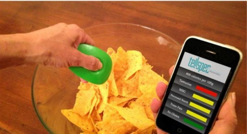 Mini-scanner can tell what's in your food