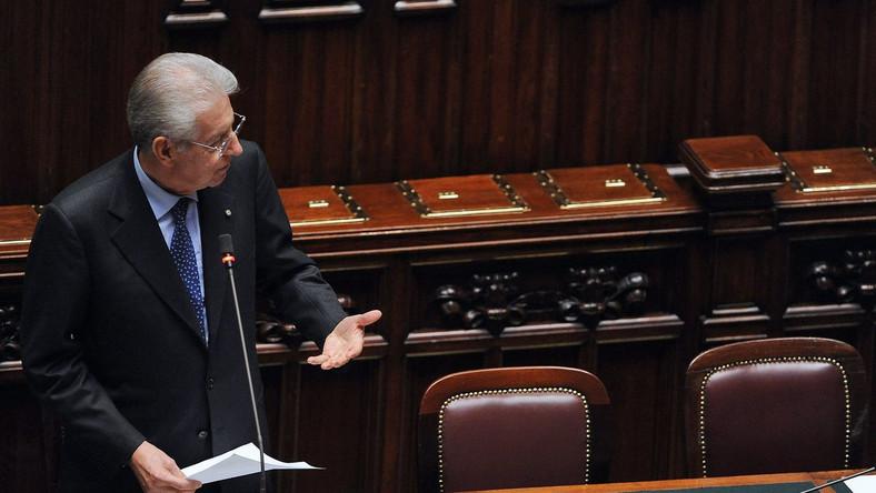 Mario Monti w Senacie