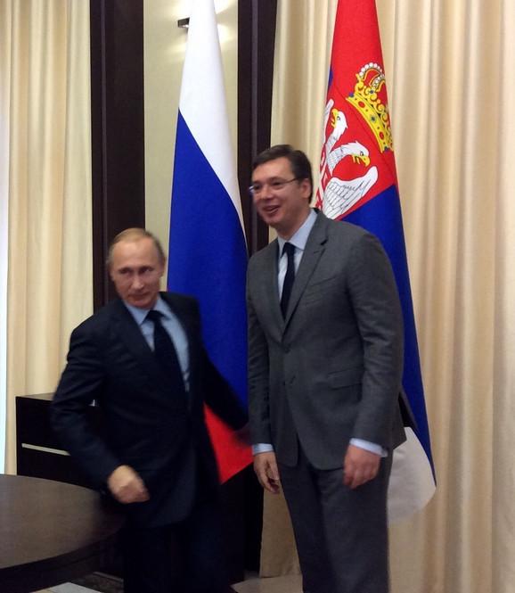 Putin šalje specijalnu delegaciju u Srbiju