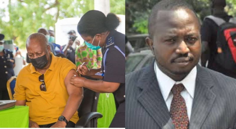"""I'm disappointed in Mahama for taking covid-19 vaccine as election petition is ongoing"" - Atubiga"