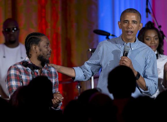 Kendrik Lamar i Obama