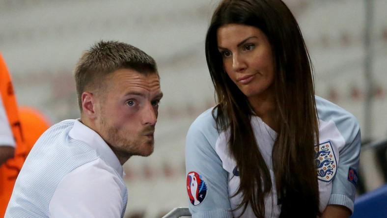 Jamie Vardy i jego żona