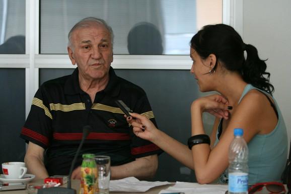 Legendarni glumac u razgovoru sa našom novinarkom