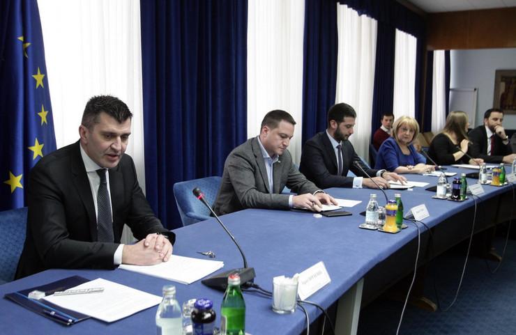 Prvo zasedanje Koordinacionog tima za praćenje tokova iz oblasti ekonomskih migracija u Srbiji, Zoran Đorđević