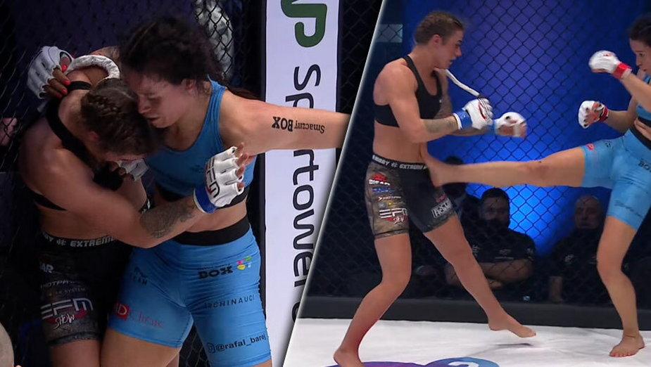 Kaylee Vos pokonała Polkę przez decyzję