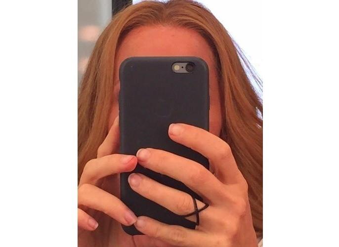 Gillian Anderson z włosami Dany Scully