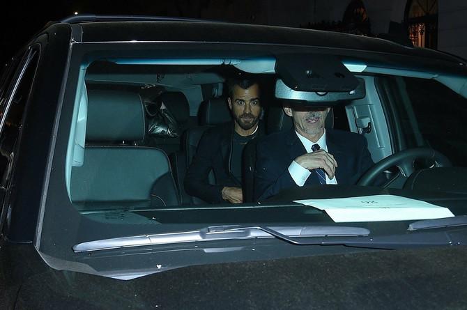 """Džastin Teru i """"njegova devojka"""" pre nekoliko nedelja u Njujorku"""