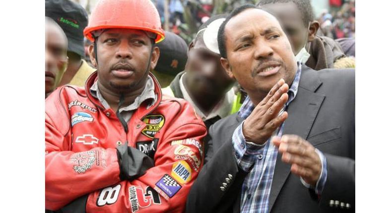 Governors Ferdinand Waititu (Kiambu) and Mike Sonko (Nairobi)