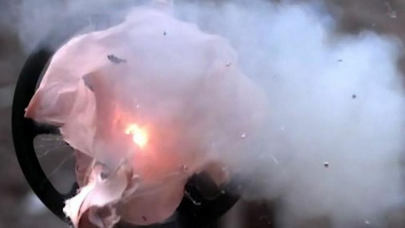 Wybuch poduszki TAKATA