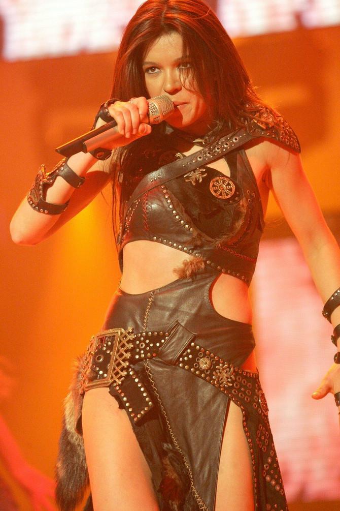 Ruslana na Pesmi Evrovizije 2004. u Istanbulu