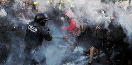 Zamieszki w Barcelonie. Separatyści starli się z policją