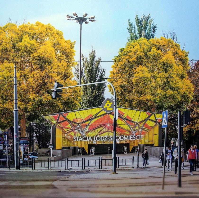 Koncepcja stacji Łódź Śródmieście