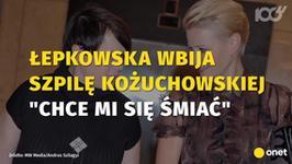 """Ilona Łepkowska wbija szpilę Małgorzacie Kożuchowskiej. """"Chce mi się śmiać"""""""