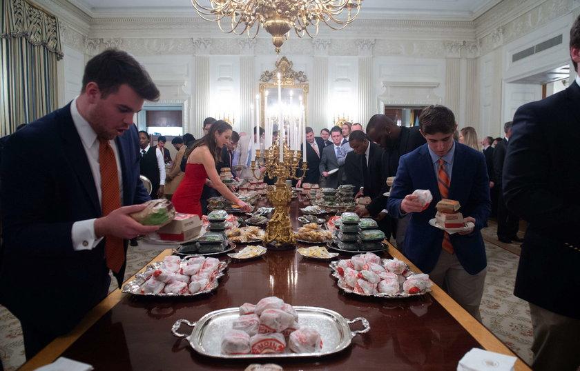 Przyjęcie w Białym Domu