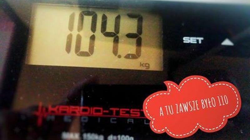 4 tygodnie treningu i 7 kilo mniej
