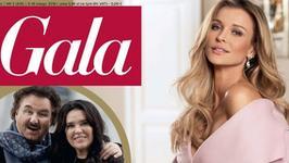 """Joanna Krupa na okładce """"Gali"""". Odsłania ramionko, kusi nóżką"""