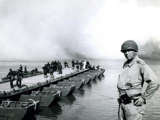 General Patton, USA, 3rd Army exercise
