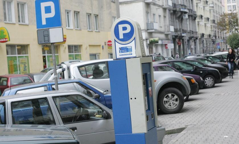 Parkometr w Warszawie