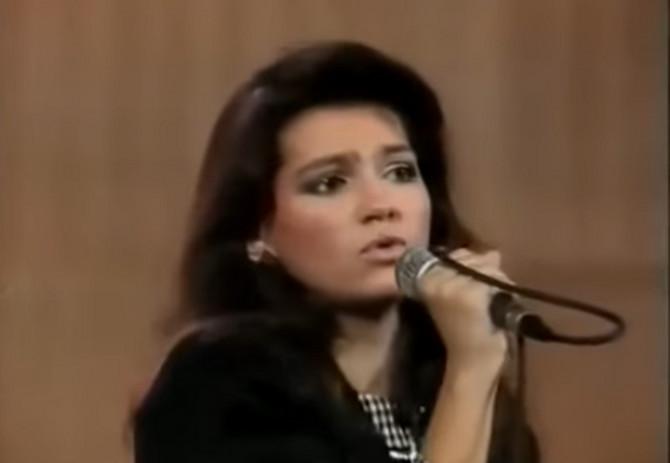 Nina Badrić 1988. godine