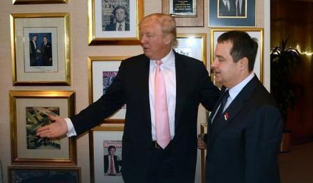 Donald Tramp i Ivica Dačić