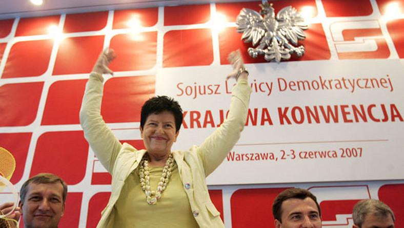 SLD świętuje, ale bez Borowskiego i Hübner