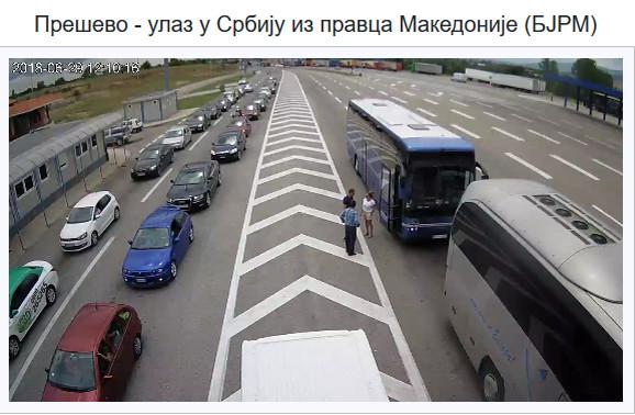 Ulaz u Srbiju iz Makedonije
