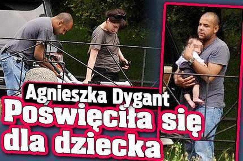 Dygant rzuciła wszystko dla dziecka