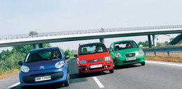 Citroen C1 czy Fiat Panda? A może Kia Picanto?
