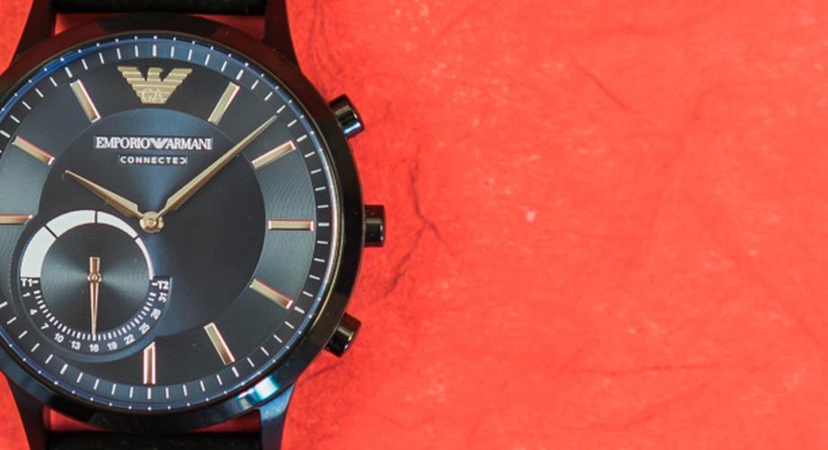 Test: Emporio Armani Connected – modische Hybrid-Smartwatch