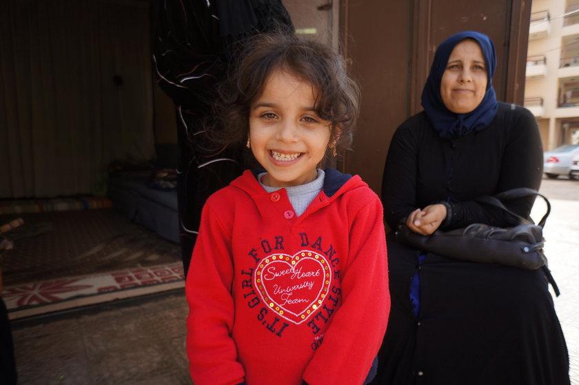 Polacy pomagają uchodźcom w Libanie