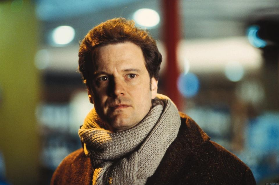 """Colin Firth w filmie """"To właśnie miłość"""""""